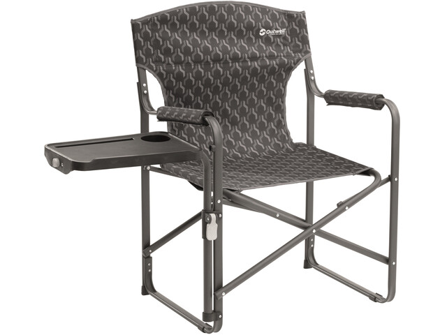 Outwell Chino Hills Folding Chair with Side Table Black